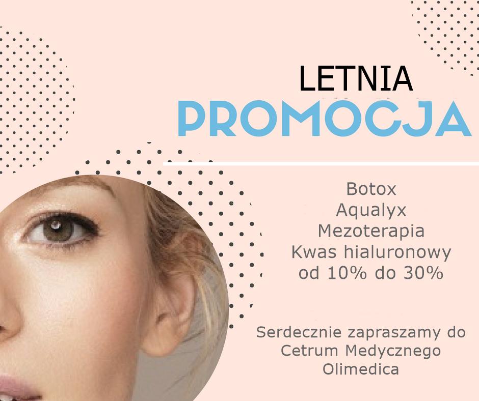 promocje kawas haialuronowy Szczecin, Promocje - botoks Szczecin