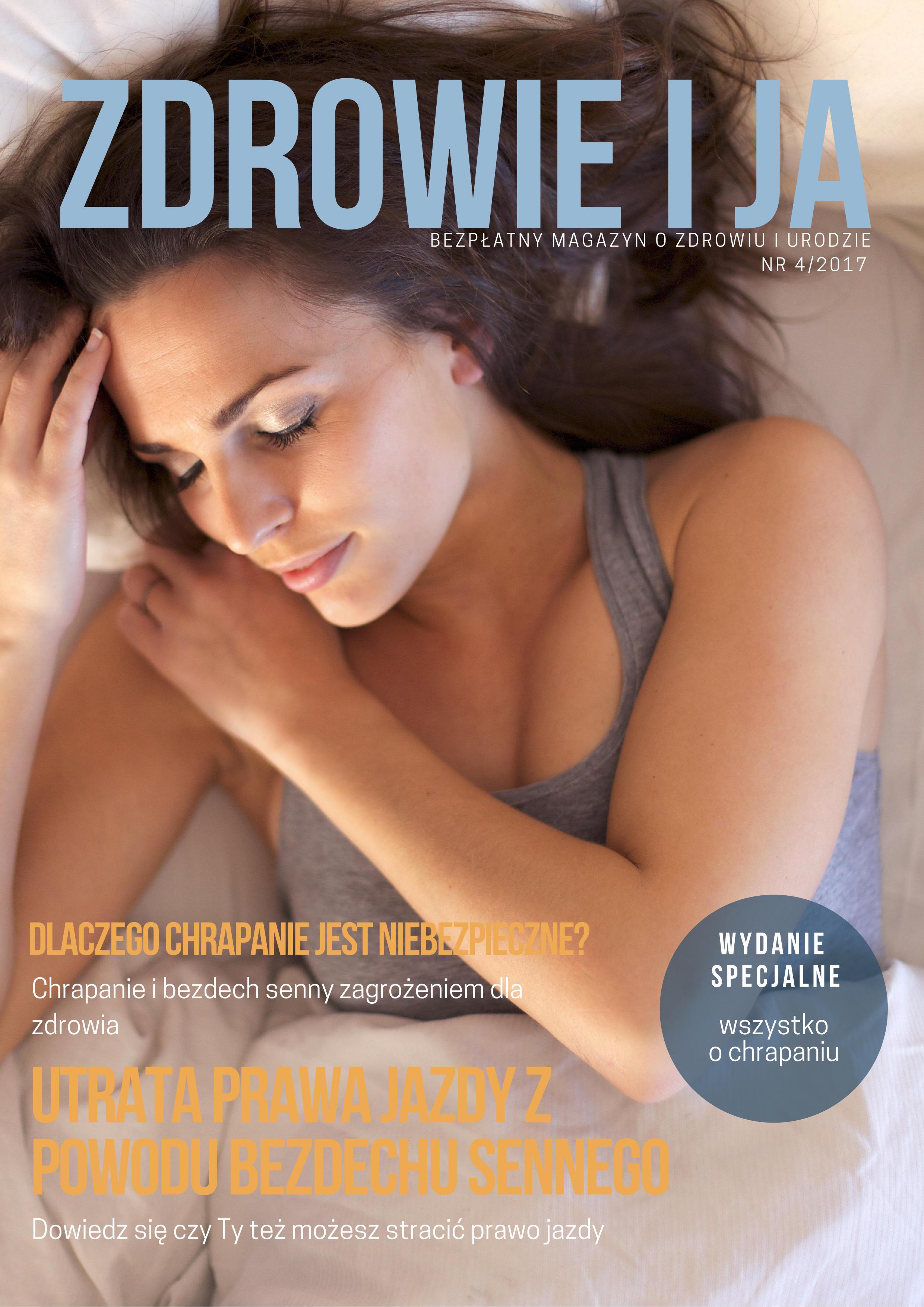 """Specjalne wydanie bezpłatnego magazynu ,,Zdrowie i ja"""" – Wszystko o chrapaniu"""