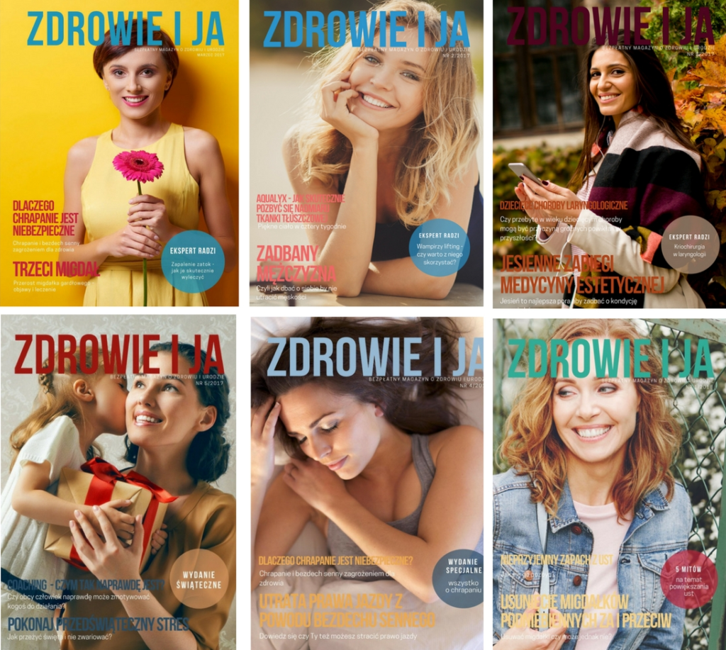"""Bezpłatny magazyn o zdrowiu i urodzie – ,,Zdrowie i ja"""""""