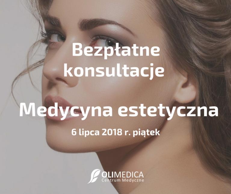 bezpłatne konsultacje medycyna estetyczna